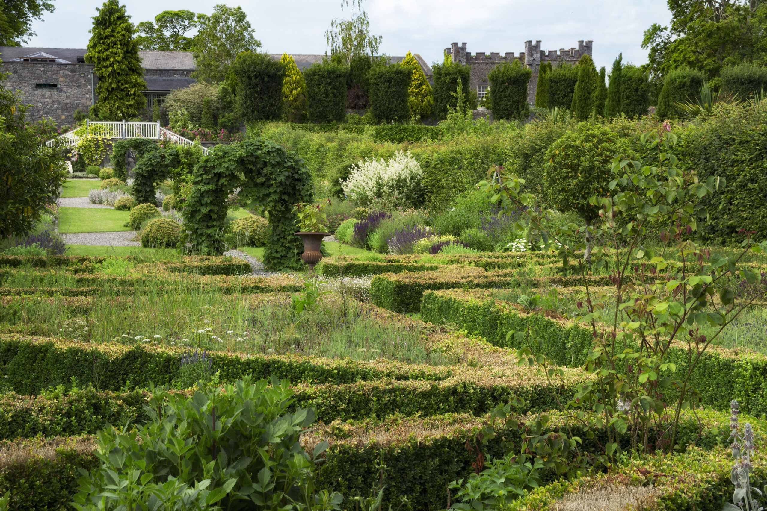 Castle Durrow Garden
