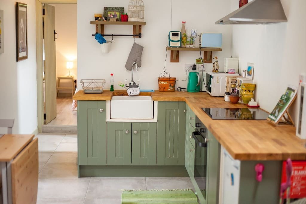 Kitchen - Hushabye Farm - Self Catering Accommodation in Laois