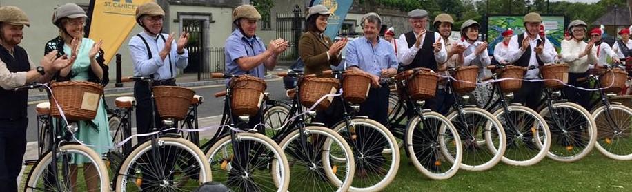 Pedal Vintage – Durrow Community Bike Hire Scheme
